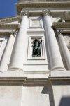 La chiesa di S. Francesco della Vigna - La Facciata