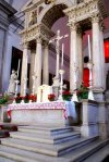 The church of San francesco della Vigna - The Presbytery and Choir